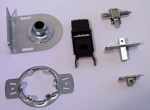 turned parts assembly
