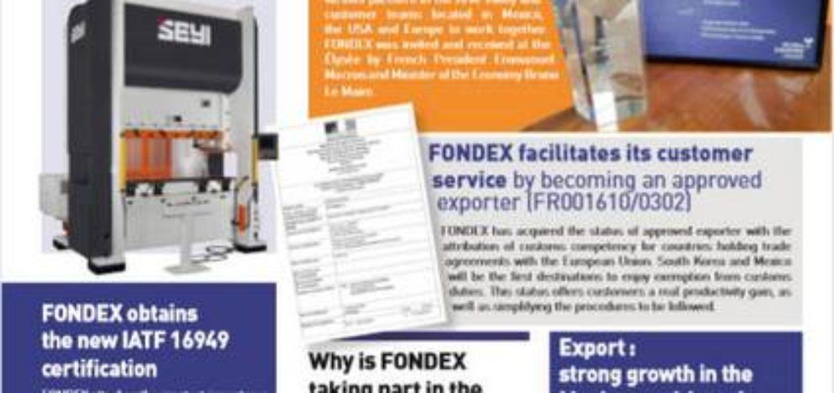Fondex newsletter 201809